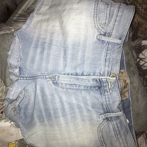 Two pairs hollister shorts size 13 and 15